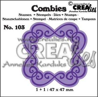 Crealies Combies 103 - Kader C SALE