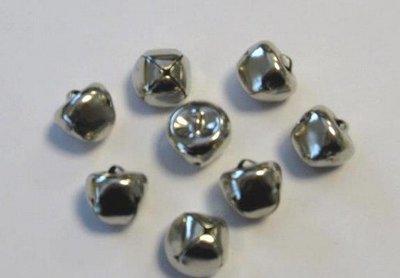 Christmas Bells - Silver 15 mm 12239-3904 SALE