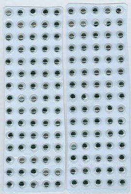 Zelfklevende Wiebelogen - 6 mm 12219-1931