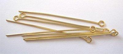 Eye Pin 45 mm - GoLd 10316-4502 SALE