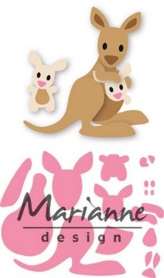 Marianne Design Collectable - Eline's Kangaroo COL1446