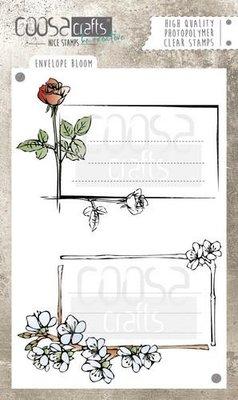 Coosa Crafts Clearstamp A6 - Envelope Bloom COC-036 SALE