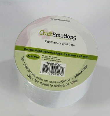 CraftEmotions EasyConnect Craft Tape - 65 mm