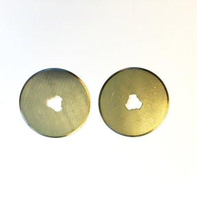 Rotary Cutter Reservemesjes - 28 mm Recht 12411-1132