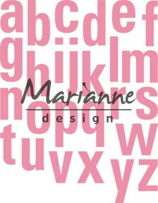 Marianne Design Collectable - Alphabet XL COL1449