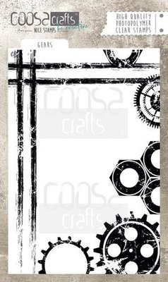 Coosa Crafts Clearstamp A6 - Gears COC-046 SALE