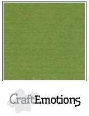 CraftEmotions Linen Cardboard A5 - Moss SALE