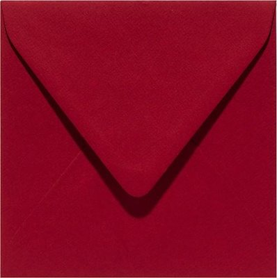 Papicolor Envelop Original 14 x 14 cm - Christmas Red 303943