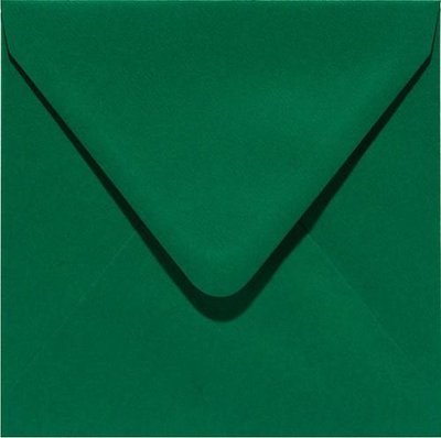 Papicolor Envelope Original 14 x 14 cm - Darkgreen 303950