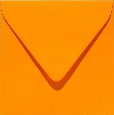 Papicolor Envelope Original 14 x 14 cm - Orange 303911