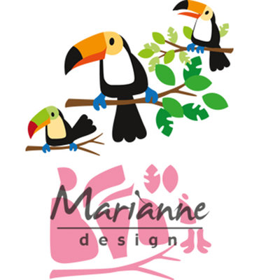 Marianne Design Collectable - Eline's Toucan COL1457