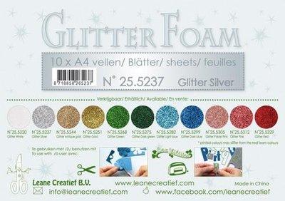 Leane Creatief Glitter Foam - Silver 25.5237 SALE