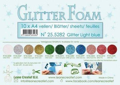 Leane Creatief Glitter Foam - Light Blue 25.5282 SALE