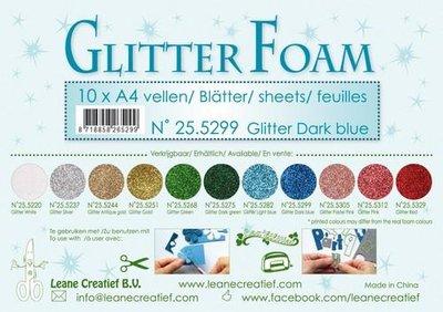 Leane Creatief Glitter Foam - Dark Blue 25.5299 SALE