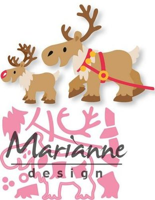Marianne Design Collectable - Eline's Reindeer COL1461