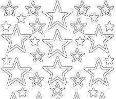 Starform Stickersheet - Christmas Stars 3 - Silver 0856.002 SALE