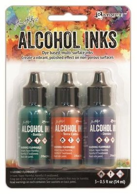 Ranger Alcohol Ink Kit - Rustic Lodge TIM19770