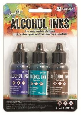 Ranger Alcohol Ink Kit - Mariner TAK40866