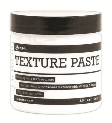 Ranger Texture Paste - Opaque INK44444