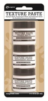 Ranger Texture Paste - Set van 3 INK48084