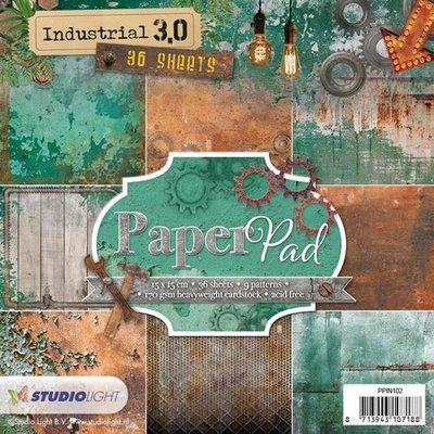 Studio Light Paper Pack 15 x 15 cm - Industrial 3.0 nr. 102 PPIN102 SALE