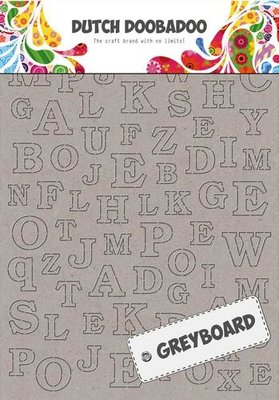 Greyboard Dutch Doobadoo - Alfabet 492.500.005