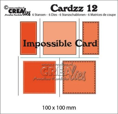 Crealies Cardzz 12 - Impossible Card