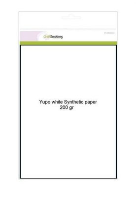 CraftEmotions Yupo Paper White - A4 200 gr
