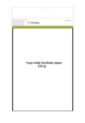 CraftEmotions Yupo Paper White - A4 234 gr