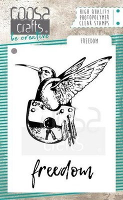 Coosa Crafts Clearstamp - Freedom COC-059
