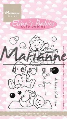 Marianne Design Stamp - Eline's Cute Babies EC0176