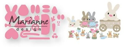 Marianne Design Collectable - Eline's Baby Bunny COL1463