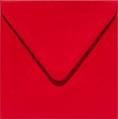 Papicolor Envelope Original 14 x 14 cm - Red 303918