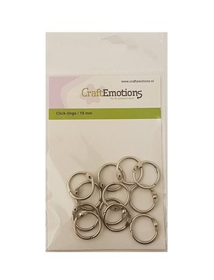 CraftEmotions Bookbinder Rings 19 mm