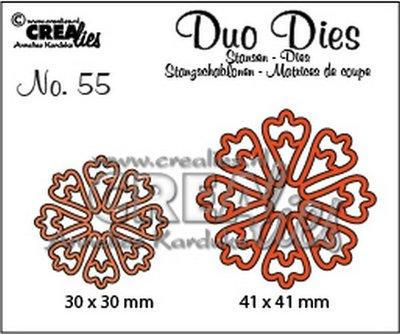Crealies Duo Dies 55 - Bloemen 24