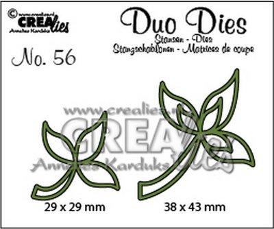 Crealies Duo Dies 56 - Blaadjes 10