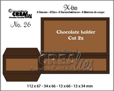 Crealies X-tra 26 - Chocolade Houder