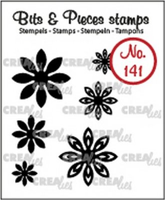Crealies Bits & Pieces 141 Mini Flowers 18
