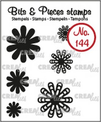 Crealies Bits & Pieces 144 Mini Flowers 22