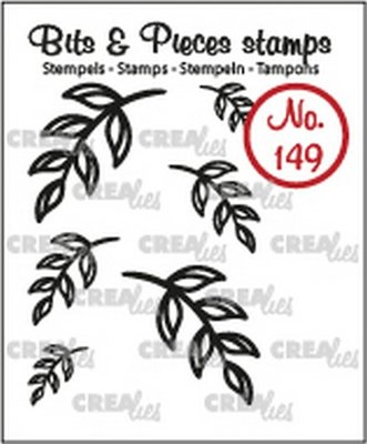 Crealies Bits & Pieces 149 Mini Leaves 5