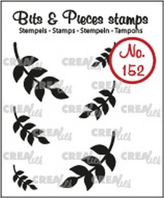 Crealies Bits & Pieces 152 Mini Leaves 8 Solid