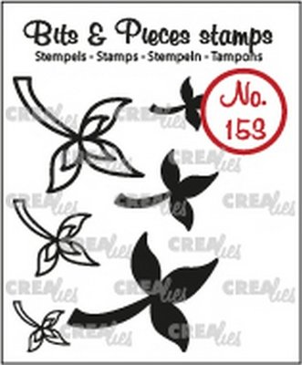 Crealies Bits & Pieces 153 Mini Leaves 10