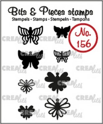 Crealies Bits & Pieces 156 Mini Butterflies 7 + 8