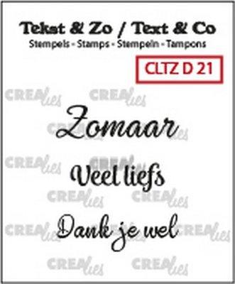 Crealies Tekst & Zo - Divers 21