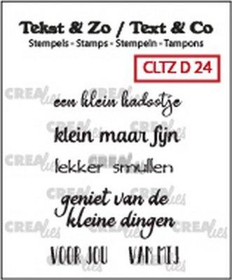 Crealies Tekst & Zo - Divers 24