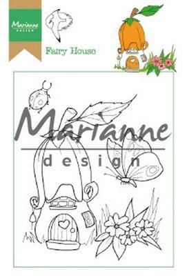 Marianne Design Stamp - Hetty's Fairy House HT1641