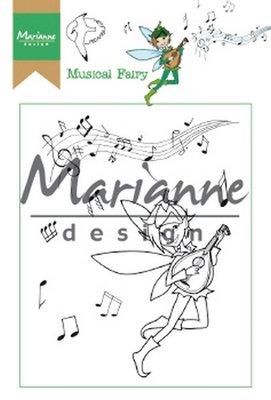 Marianne Design Stamp - Hetty's Musical Fairy HT1643