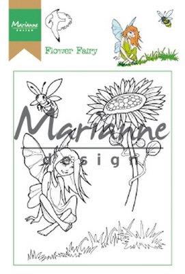 Marianne Design Stamp - Hetty's Flower Fairy HT1645