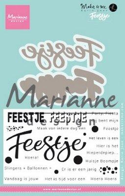 Marianne Design Stamp - Karin's Feestje KJ1728