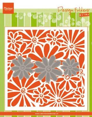 Marianne Design Embossing Folder Extra - Daisies DF3451